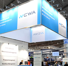 Messe Controll Messestand CWA