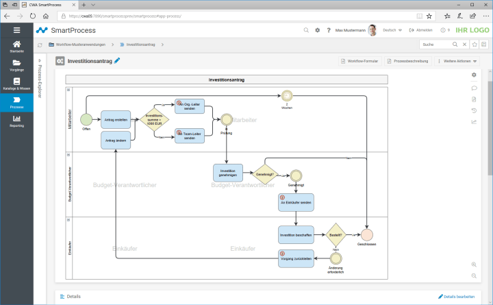QM-Software Workflow SmartProcess