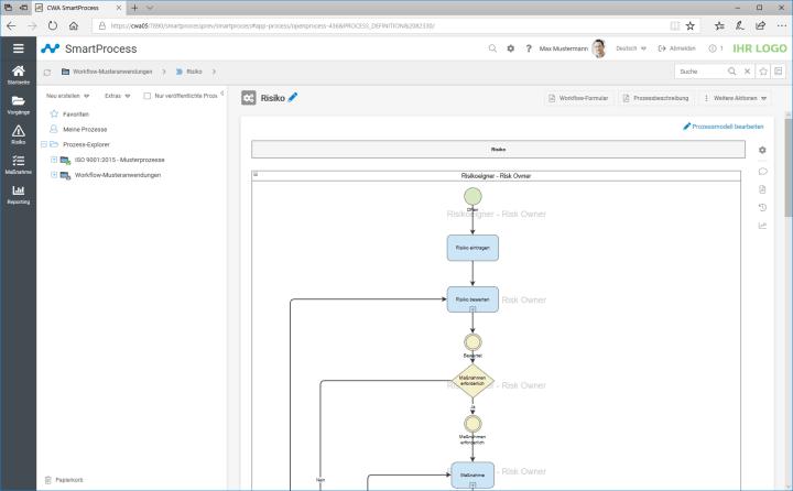Workflow-Designer im Risikomanagement